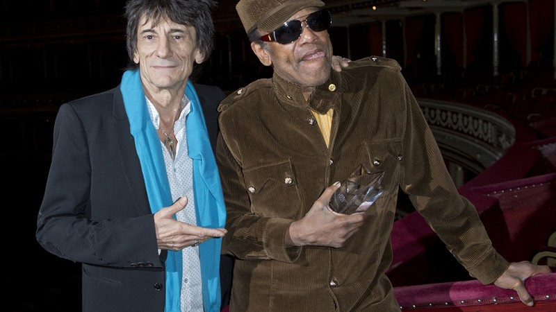 Bobby Womack e Ron Wood