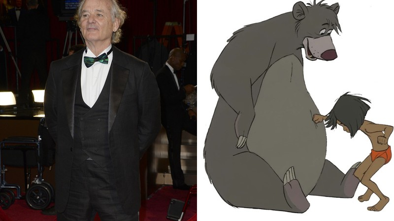 Baloo - Bill Murray - Mogli: O Menino Lobo