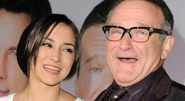 Robin Williams e Zelda Williams - Katy Winn/AP