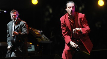 Mike Patton à frente do Faith no More - Chris Pizzello/AP