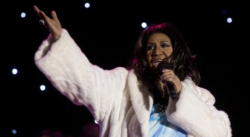 None - Aretha Franklin (Foto:Carolyn Kaster/AP)