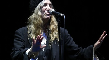 A cantora Patti Smith - Abdeljalil Bounhar/AP