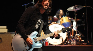 O vocalista e guitarrista do Foo Fighters, Dave Grohl - John Shearer/AP