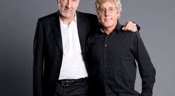 Pete Townshend e Roger Daltrey, os integrantes remanescentes do The Who - Reprodução/Facebook