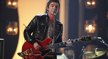 Noel Gallagher se apresenta no prêmio Brit Awards, de 2012  - John Marshall/AP