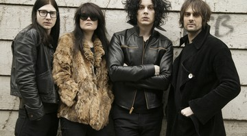 The Dead Weather, o supergrupo de Jack White, Alison Mosshart (The Kills), Dead Fertita (Queens of the Stone Age) e Jack Lawrence (Raconteurs),  - Ed Rode/AP