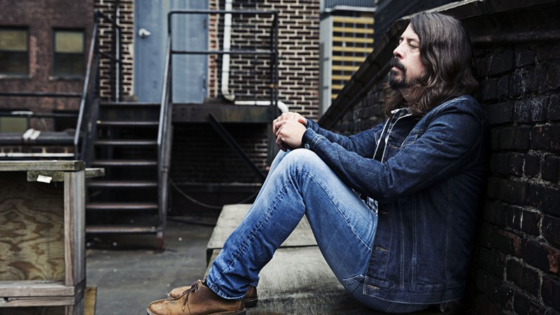 Dave Grohl posa para foto na divulgação de Sonic Highways, novo disco do Foo Fighters, em Nova York.