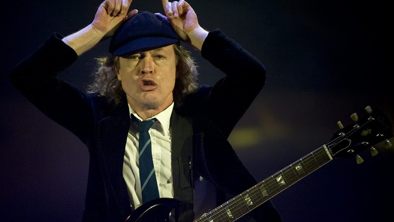 Angus Young, guitarrista do AC/DC