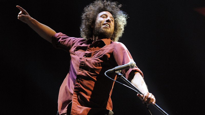 Zack de la Rocha, ex-vocalista do Rage Against the Machine