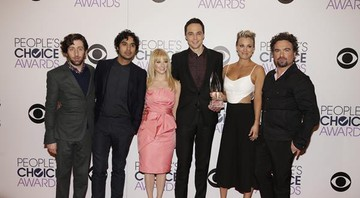 The Big Bang Theory leva três estatuetas no People's Choice Awards 2015 - Divulgação/Warner Chanel