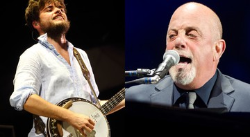 Mumford and Sons (à esquerda) e Billy Joel (à direita) - AP