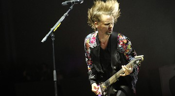 Matt Bellamy, vocalista e guitarrista do Muse - Chris Pizzello/AP