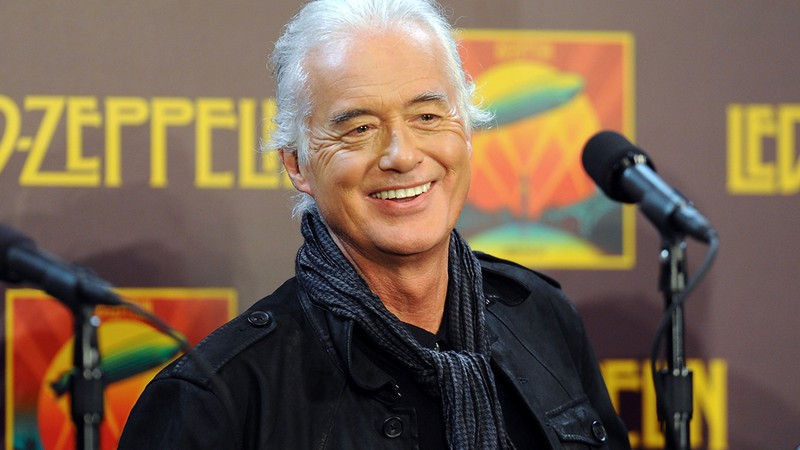 Jimmy Page, guitarrista do Led Zeppelin