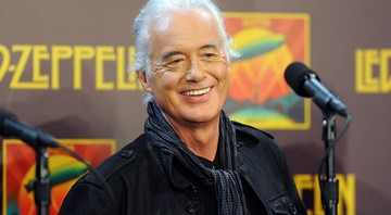 Jimmy Page, guitarrista do Led Zeppelin - Evan Agostini/AP