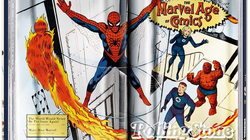 O livro 75 Years of Marvel Comics: From the Golden Age to the Silver Screen