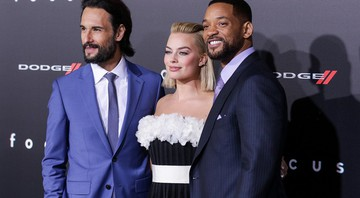 Rodrigo Santoro, Margot Robbie e Will Smith - John Salangsang/AP