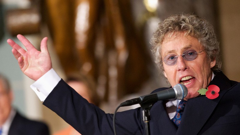 Roger Daltrey, vocalista do The Who
