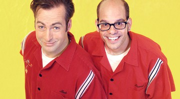 Bob Odenkirk e David Cross na época de Mr. Show With Bob and David - Reprodução
