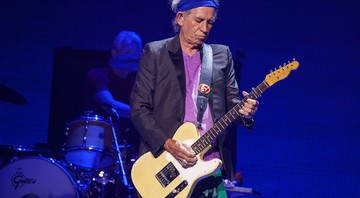 Keith Richards, guitarrista dos Rolling Stones - Barry Brecheisen/AP