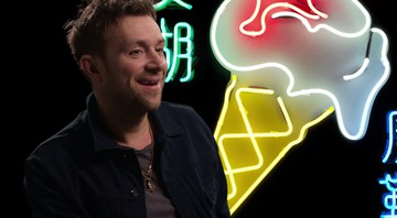 Damon Albarn em cena do documentário The Magic Whip: Made in Hong Kong. - Reprodução/Vídeo