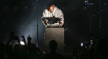 Kanye West no show Wango Tango. - AP/Rich Fury