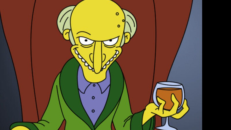 chefe Mr. Burns (Simpsons)