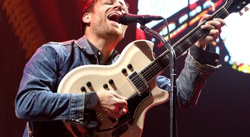 Dan Auerbach, guitarrista e vocalista do Black Keys - Owen Sweeney/AP