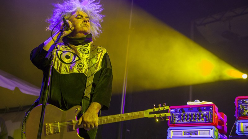 O fundador e líder do Melvins, Buzz Osborne