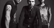 Wolstenholme, Matt Bellamy e Dominic Howard, do Muse, se desafiaram no novo disco. - Divulgação