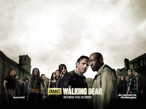 Poster da sexta temporada de The Walking Dead