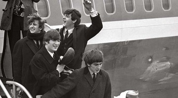 Os Beatles invadem a América 1964 - Getty Images