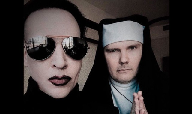 Marilyn Manson e Billy Corgan