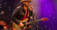 Jeff Tweedy, vocalista do Wilco, em show da banda em 2015 - Barry Brecheisen/AP