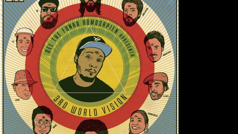 Capa do álbum Third World Vision, de Del The Funky Homosapien.