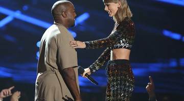 Kanye West e Taylor Swift no VMA - Matt Sayles/Invision/AP