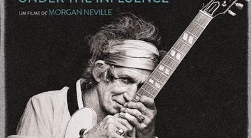 Pôster do documentário Keith Richards: Under the Influence.