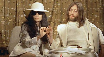 None - Yoko Ono e John Lennon (Foto: Agent Press)