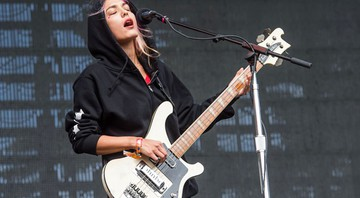 Jenny Lee Lindberg, do Warpaint. - AP