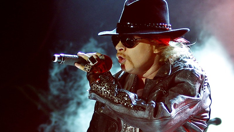 Galeria - volta do Guns N' Roses - 8