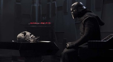 Kylo Ren, interpretado por Adam Driver, herda o manto de Darth Vader - DAVID JAMS/©2015 LUCASFILM LTD