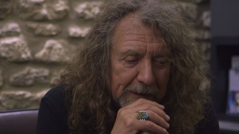 O ex-vocalista do Led Zeppelin, Robert Plant