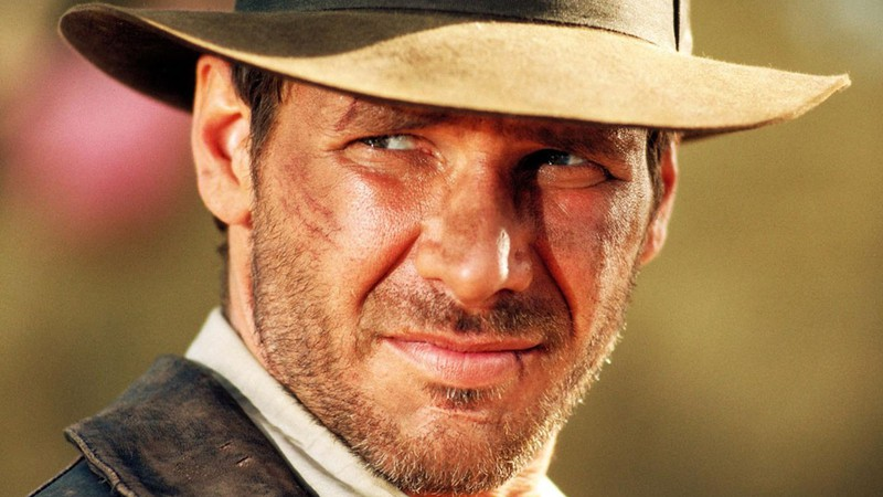 O ator Harrison Ford na pele do protagonista de <i>Indiana Jones</i>
