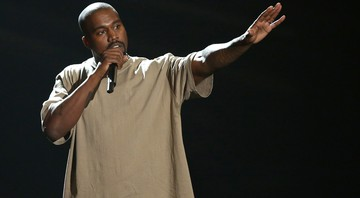 Kanye West durante o VMA, da MTV, no Microsoft Theater, em Los Angeles, em 2015 - Matt Sayles/AP