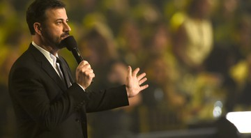 O apresentador de TV norte-americano Jimmy Kimmel - Chris Pizzello/AP