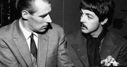 George Martin e Paul McCartney (home)