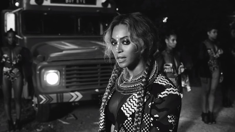 "Beyoncé em cena do clipe de ""Sorry"", do álbum visual Lemonade"