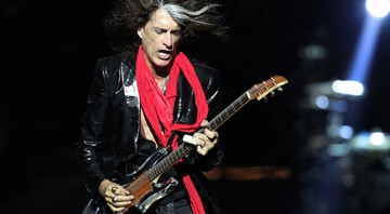 Joe Perry, guitarrista de Aerosmith e Hollywood Vampires - Wong Maye-E/AP