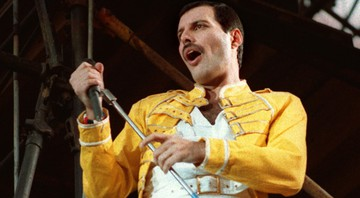 None - Freddie Mercury, ex-frontman do Queen (Foto: Ap)