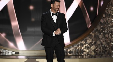 O comediante Jimmy Kimmel apresentou a 68ª cerimônia do Emmy - Chris Pizzello/AP