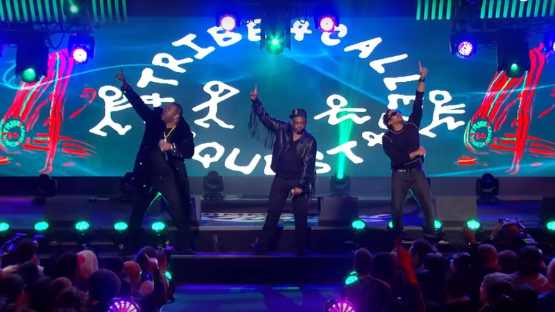 A Tribe Called Quest no Jimmy Kimmel Live